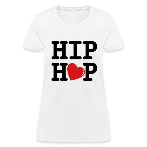 hip hop heart - Women's T-Shirt