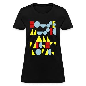 house music all night long - Women's T-Shirt