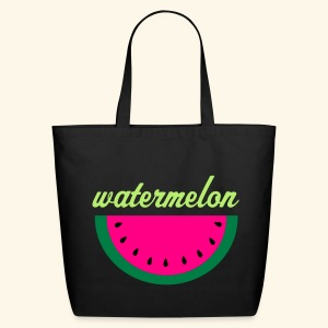 Watermelon Tote Bag - Eco-Friendly Cotton Tote