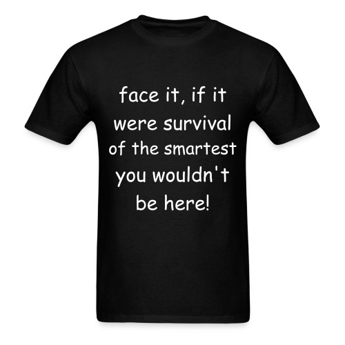 smart survival - Men's T-Shirt