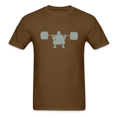 Brown weightlifter T-Shirts