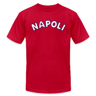 T-Shirts ~ Men's T-Shirt by American Apparel ~ NAPOLI T, Blue