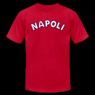 T-Shirts ~ Men's T-Shirt by American Apparel ~ NAPOLI T, Blue