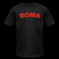 T-Shirts ~ Men's T-Shirt by American Apparel ~ ROMA T, Black