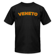 T-Shirts ~ Men's T-Shirt by American Apparel ~ VENETO Region T, Black