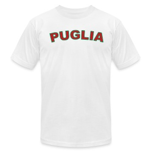 PUGLIA Region T, White - Men's T-Shirt by American Apparel