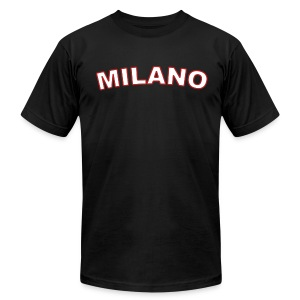 MILANO Region T, Black - Men's T-Shirt by American Apparel