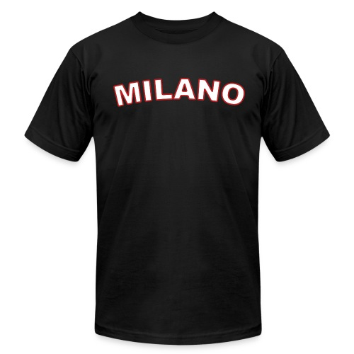 MILANO Region T, Black - Men's  Jersey T-Shirt