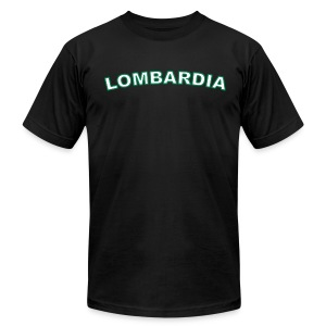 LOMBARDIA Region T, Black - Men's T-Shirt by American Apparel