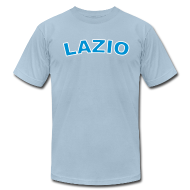 T-Shirts ~ Men's T-Shirt by American Apparel ~ LAZIO Region T, Light Blue