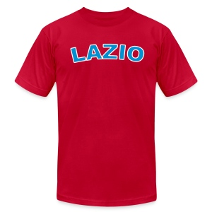 LAZIO Region T, Light Blue - Men's T-Shirt by American Apparel