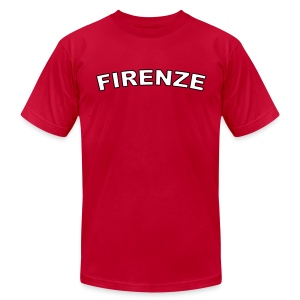 FIRENZE Region T, Red - Men's T-Shirt by American Apparel
