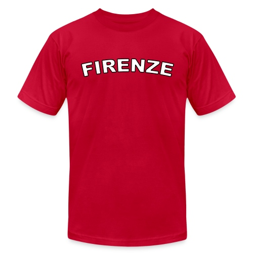 FIRENZE Region T, Red - Men's Fine Jersey T-Shirt