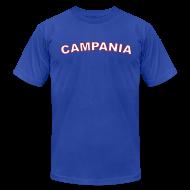 T-Shirts ~ Men's T-Shirt by American Apparel ~ CAMPANIA Region T, Royal Blue