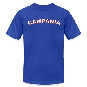 CAMPANIA Region T, Royal Blue - Men's T-Shirt by American Apparel