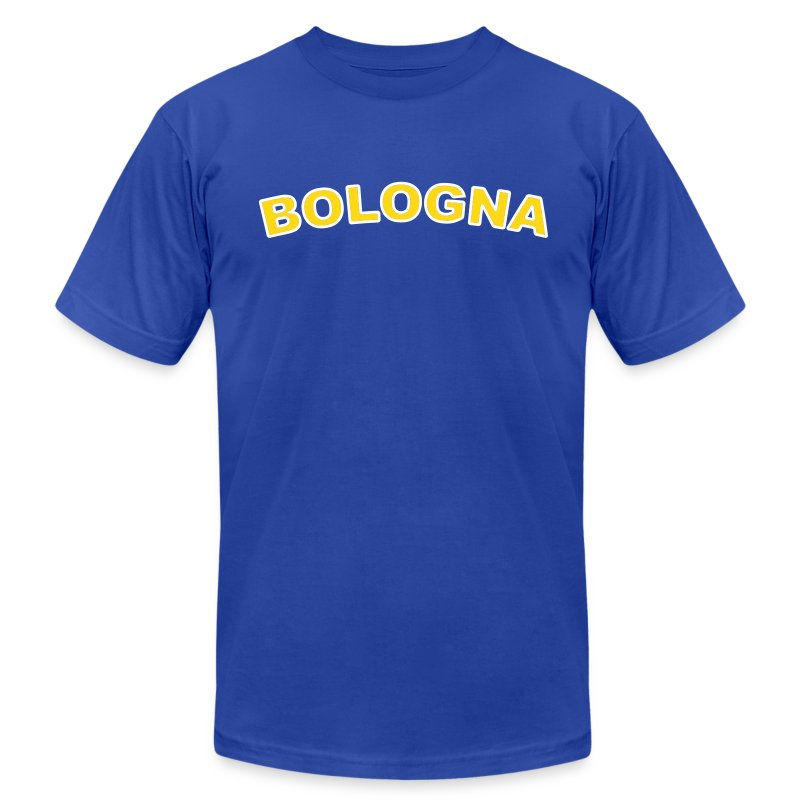 BOLOGNA Region T, Royal Blue - Men's T-Shirt by American Apparel