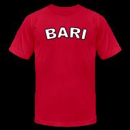 T-Shirts ~ Men's T-Shirt by American Apparel ~ Bari Region T, Red