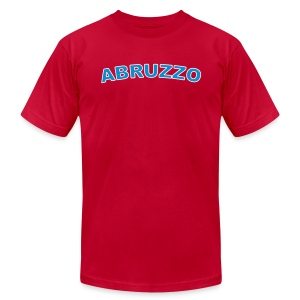 ABRUZZO Region T, Red - Men's T-Shirt by American Apparel