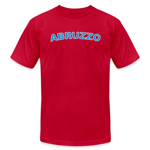 ABRUZZO Region T, Red - Men's Fine Jersey T-Shirt