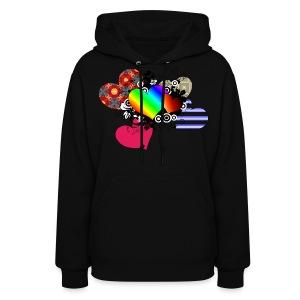 feel the rainbowness - Women's Hoodie