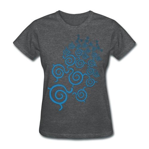 Tesselation of Whorls - Women's T-Shirt