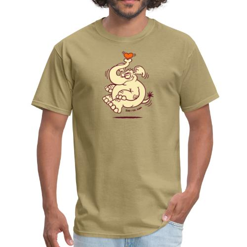Fly me to the Moon Elephant - Men's T-Shirt
