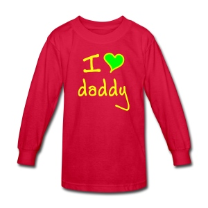 daddy - Kids' Long Sleeve T-Shirt