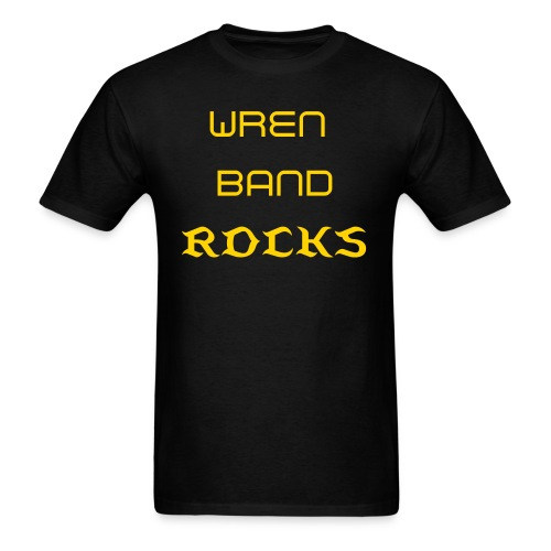 Wren Band Rocks - Men's T-Shirt