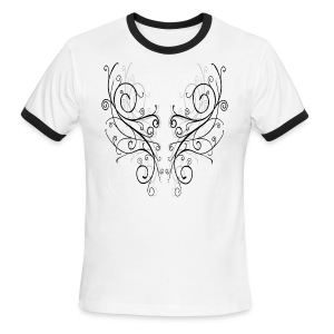 Curly Shapes 4 - Men's Ringer T-Shirt