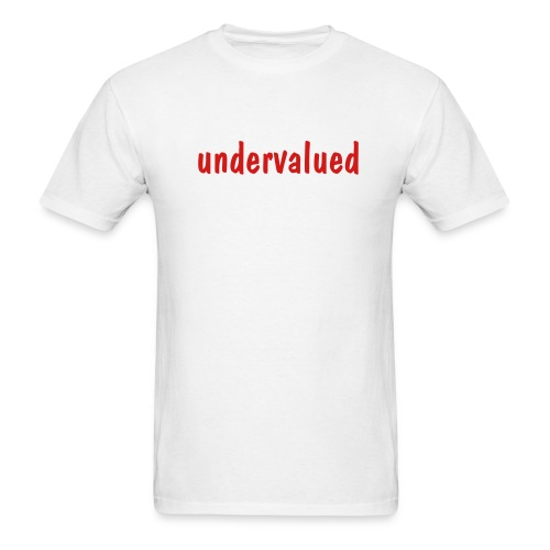 Undervalued - Men's T-Shirt