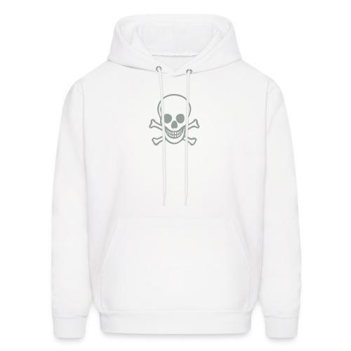 Grey Skull Hoodie - Men's Hoodie