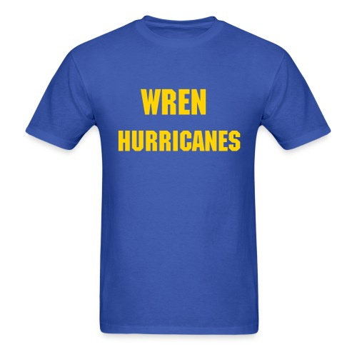 Wren Hurricanes  - Men's T-Shirt