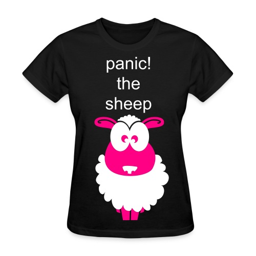 panic the sheep - Women's T-Shirt