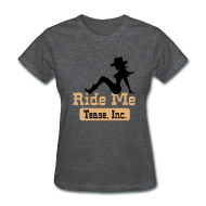 Women's T-Shirts ~ Women's T-Shirt ~ Ride Me - Cowgirl: Women's Bargain T Shirt