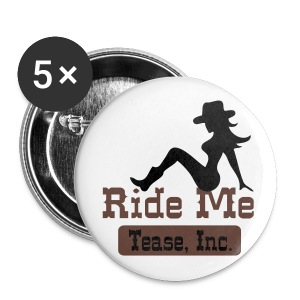 Ride Me - Cowgirl: Buttons (5 Pack) - Large Buttons