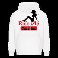 Hoodies ~ Men's Hoodie ~ Ride Me - Cowgirl: Men's Pullover