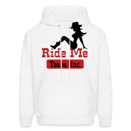 Hoodies ~ Men's Hoodie ~ Ride Me - Cowgirl: Men's Pullover