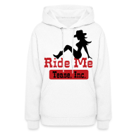 Hoodies ~ Women's Hoodie ~ Ride Me - Cowgirl: Women's Pullover