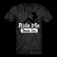 T-Shirts ~ Unisex Tie Dye T-Shirt ~ Ride Me - Cowgirl: Unisex Tie Dye Tee