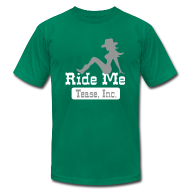 T-Shirts ~ Men's T-Shirt by American Apparel ~ Ride Me - Cowgirl: Men's AA T Shirt