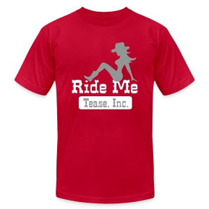 Ride Me - Cowgirl: Men's AA T Shirt - Men's T-Shirt by American Apparel