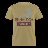 T-Shirts ~ Men's T-Shirt ~ Ride Me - Cowgirl: Men's Bargain T Shirt