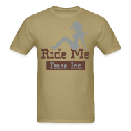 T-Shirts ~ Men's T-Shirt ~ Ride Me - Cowgirl: Men's Bargain T Shirt