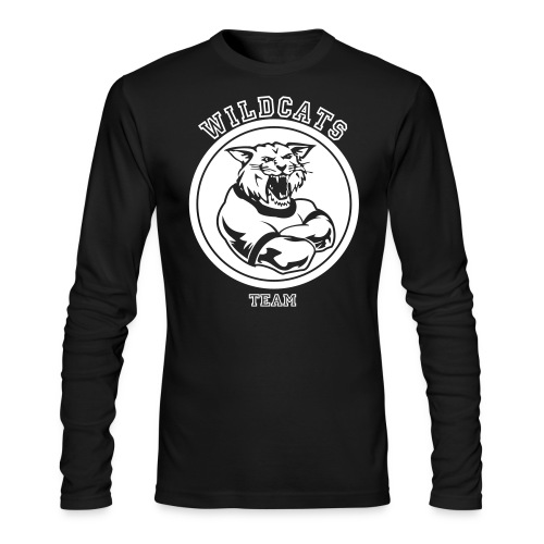 Wildcats - Men's Long Sleeve T-Shirt by Next Level