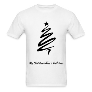My Christmas Tree's Delicious (Men) - Men's T-Shirt