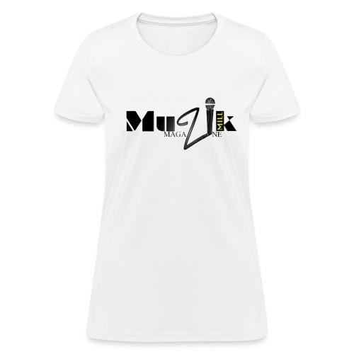 Womens Muzik Mill Magazine Tee - Women's T-Shirt