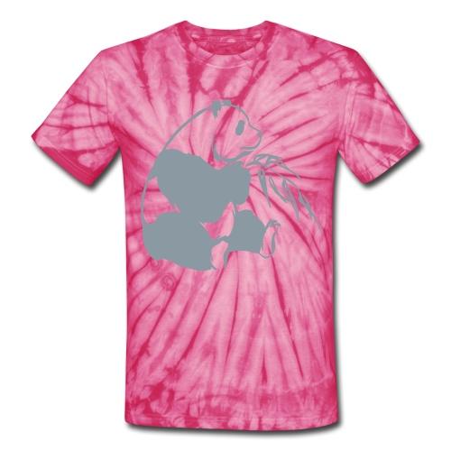 Silver - Unisex Tie Dye T-Shirt