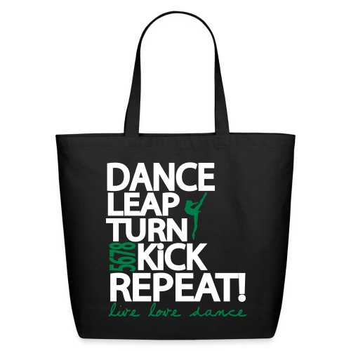 LiveLoveDance - Eco-Friendly Cotton Tote