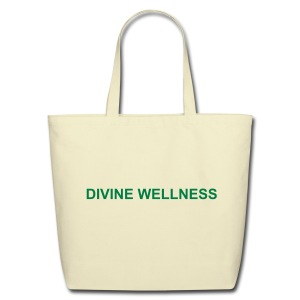 Divine Wellness Eco-Firndly Cotton Tote - Eco-Friendly Cotton Tote