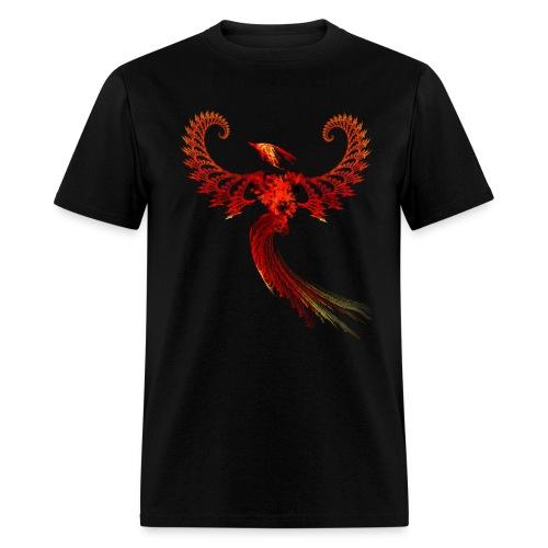 Fractal Phoenix - Men's T-Shirt